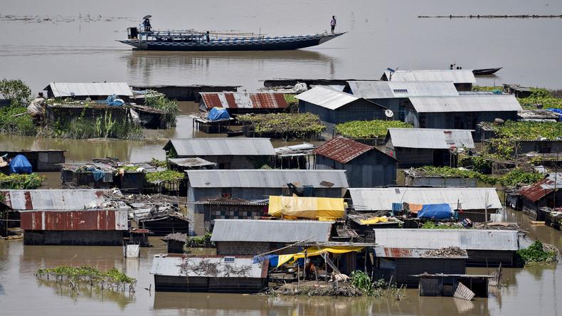 Überschwemmungen in Indien - 85 Tote, zwei Millionen Menschen betroffen