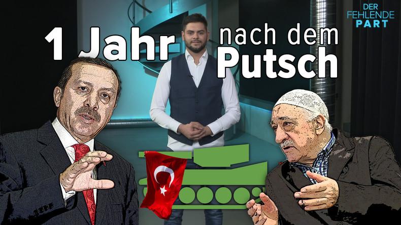 Machtkampf zwischen Gülen und Erdogan: Ein Jahr nach dem Putschversuch in der Türkei