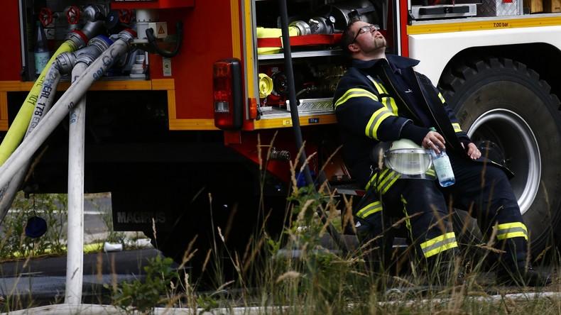 Krankenhaus in Fritzlar komplett wegen Brand evakuiert