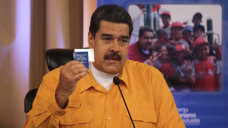 Proteste in Venezuela: Nicolás Maduro erhöht Gehalt für Polizeibeamte