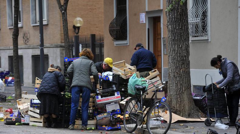 Italien: Armut innerhalb von zehn Jahren verdreifacht