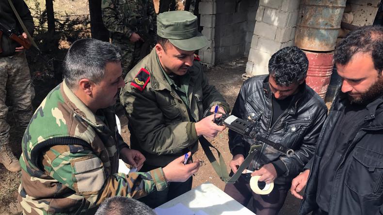 Vier syrische Ortschaften schließen sich dem Waffenstillstandsabkommen an