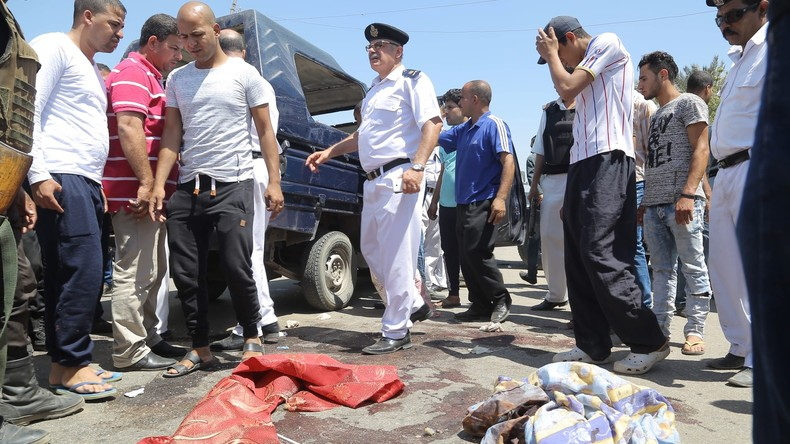 Ägypten: Fünf Polizisten  in Gizeh erschossen