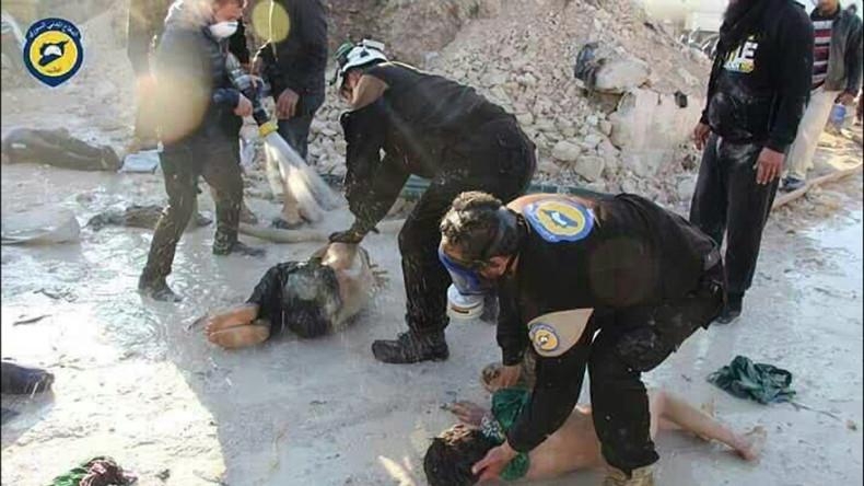 Moskau: Aktivitäten der Weißhelme in Syrien zunehmend fragwürdig