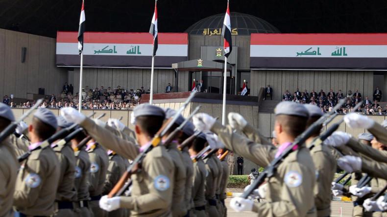Iraks Armee feiert Eroberung Mossuls mit Militärparade in Bagdad