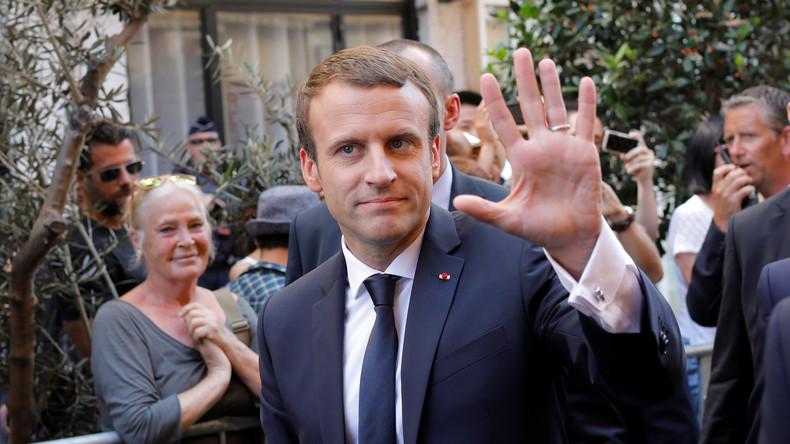 Emmanuel Macron erwartet Dialog mit Donald Trump über Klima-Abkommen