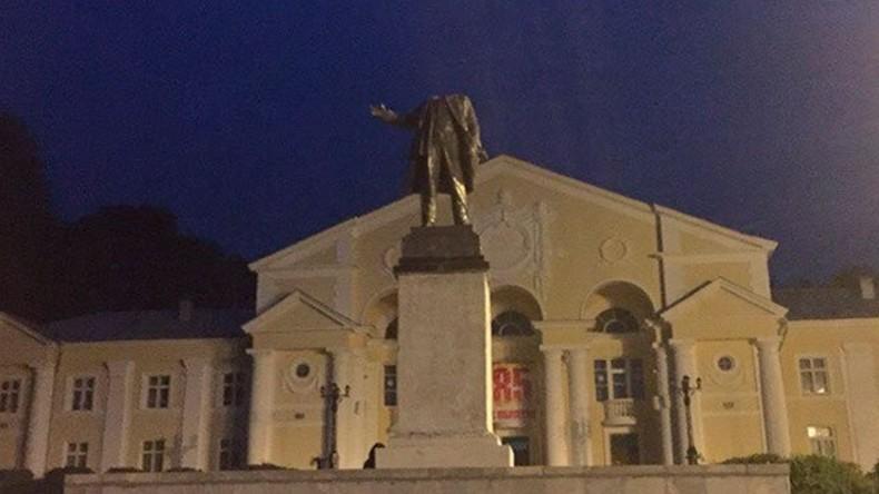 Russische Polizei fasst mutmaßlichen Vandalen nach Lenin-Enthauptung