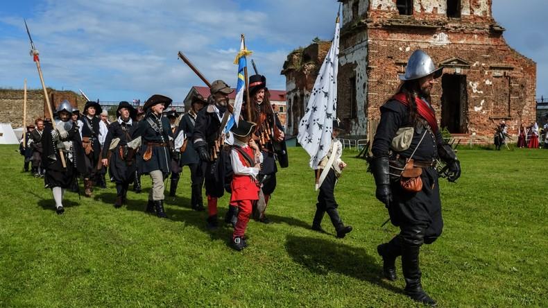 Historische Schlachten an der Newa: Reenactment-Festival in Schlüsselburg