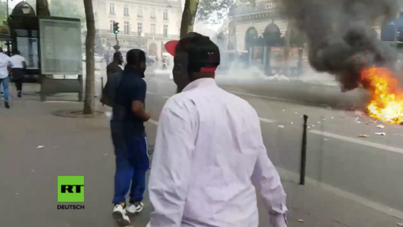 Paris: Kongolesische Regierungsgegner liefern sich Zusammenstöße mit Polizei