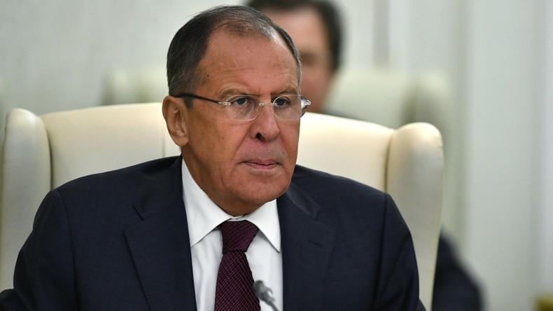 """Lawrow: Beschlagnahme von russischem diplomatischem Eigentum in USA """"Raub am helllichten Tag"""""""