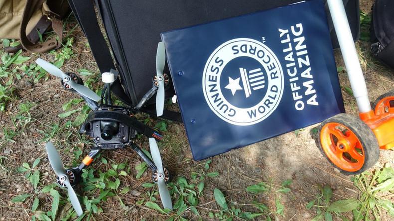 263 km/h: Drohne stellt neuen Geschwindigkeitsrekord auf und gerät in Brand