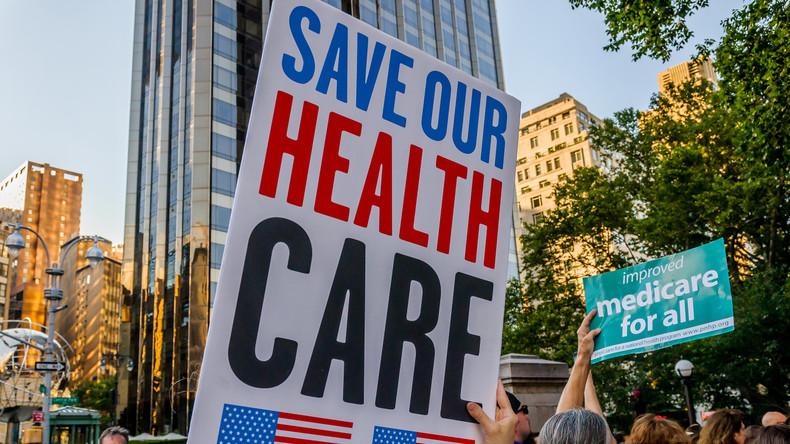 """US-Republikaner erklären Gesetzentwurf zu """"Obamacare"""" für gescheitert"""