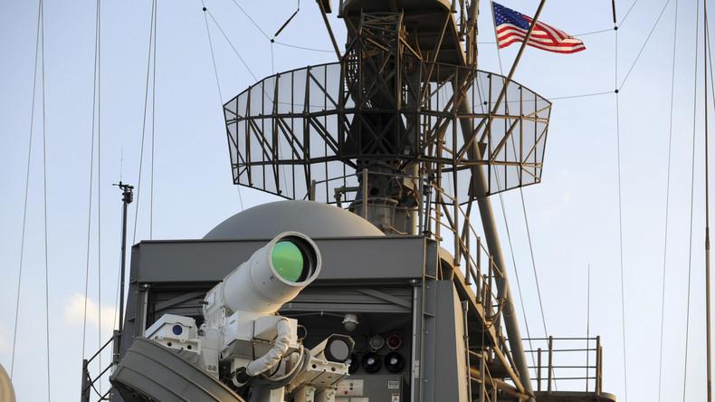 US-Marine stellt Schiffe mit Laserwaffen im Persischen Golf in Dienst