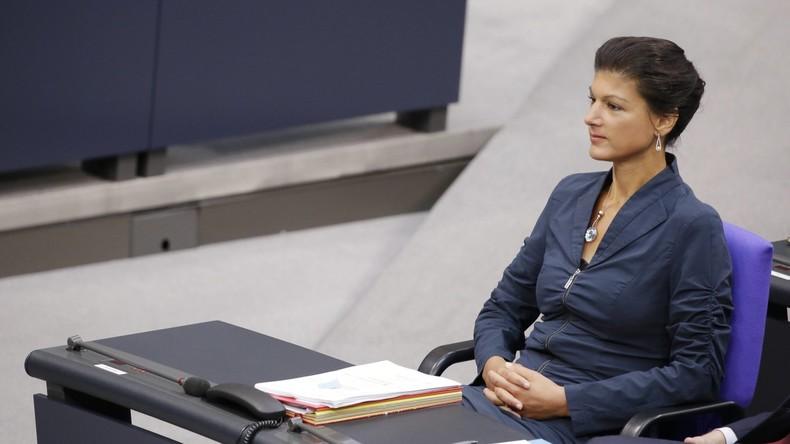 """Rot-Rot-Grün: Wagenknecht zu Sondierung bereit – """"Nicht aus Prinzip Opposition"""""""