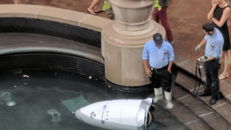 Auch Maschinen haben Burnout: US-Wachroboter begeht scheinbar Selbstmord