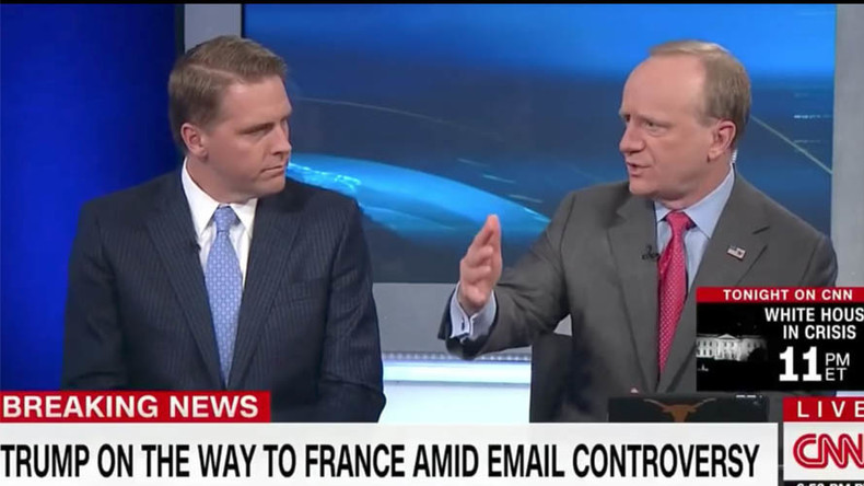 "Clinton-Berater Paul Begala auf CNN: ""Trump soll Russland bombardieren!"""