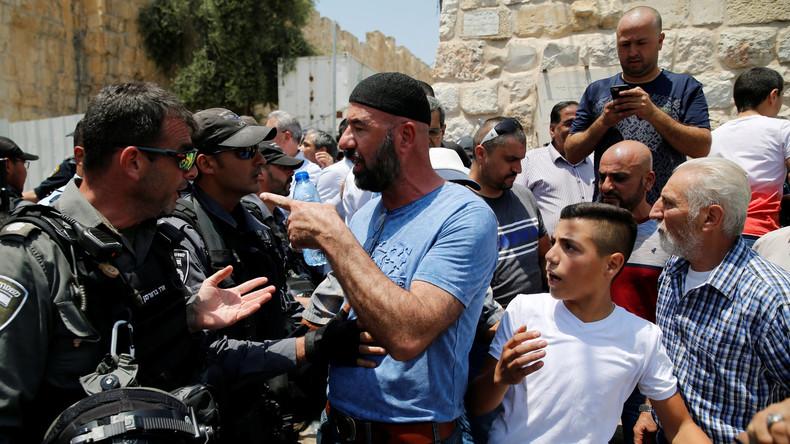 Israel: Zusammenstöße vor dem Tempelberg