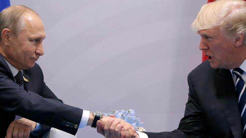 US-Medien basteln sich neuen Skandal: Geheimtreffen zwischen Trump und Putin beim G20-Gipfel