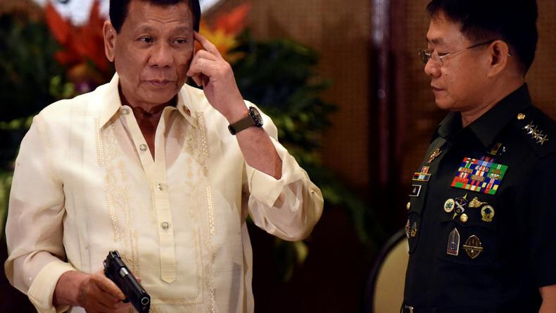 Leibwache des philippinischen Präsidenten überfallen
