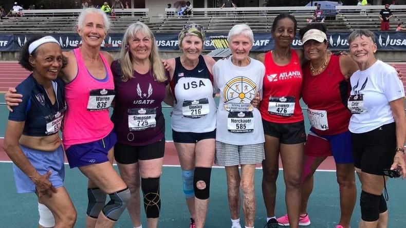 Alter ist nur eine Zahl: 82-Jährige läuft 100-Meter-Strecke  in 22 Sekunden [VIDEO]