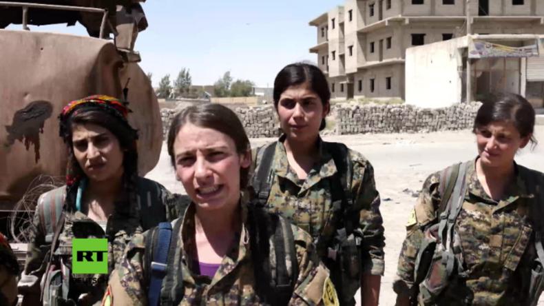 Syrien: Die Rache der jesidischen Frauen – Ehemalige Gefangene gründen Frauen-Bataillon gegen den IS