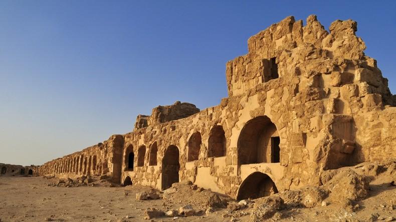 Palmyra 2.0: Terroristen verminen historische Objekte im syrischen Resafa