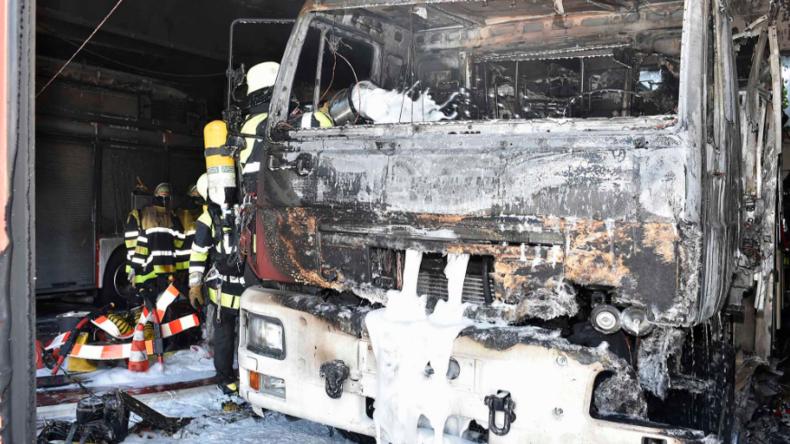 Brand bei Feuerwehr in München verursacht Schaden in Millionenhöhe