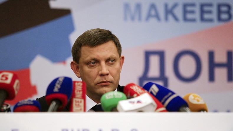 """""""Wir halten uns an Minsk II"""": Russische Reaktion auf Vorschlag zur Gründung """"Kleinrusslands"""""""