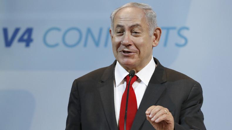 """Mikrofon-Panne enthüllt: Israels Premier Netanjahu erklärt die EU für """"verrückt"""""""