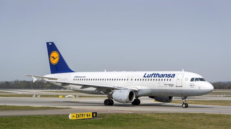 Lufthansa-Flugzeug muss wegen zu großer Hitze im Irak umkehren