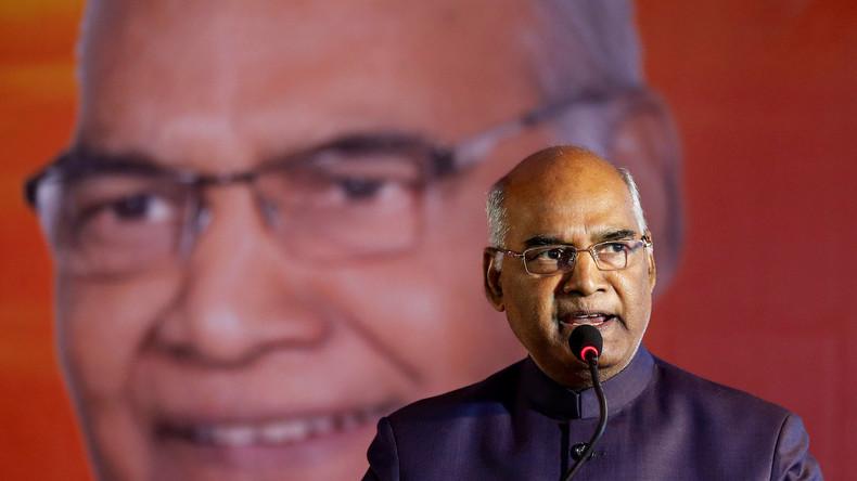 """Indien hat gewählt: """"Unberührbarer"""" wird neuer Präsident"""
