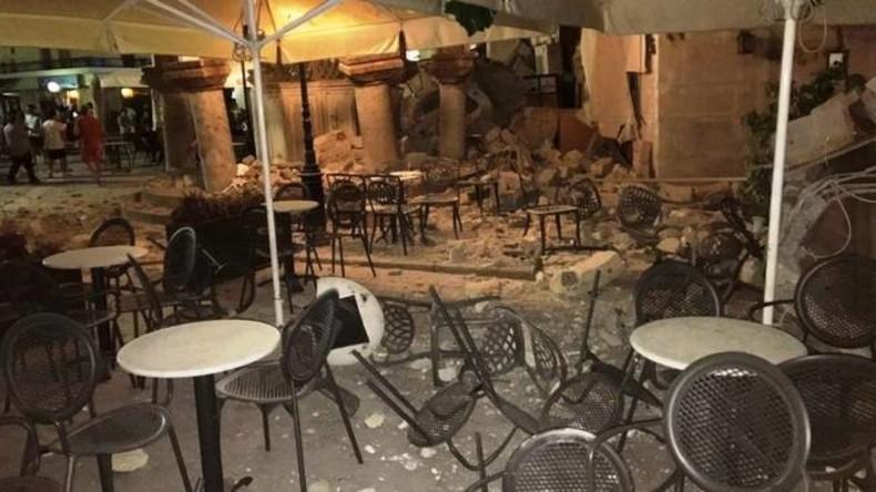 Tote und Verletzte bei Erdbeben an griechischer und türkischer Küste