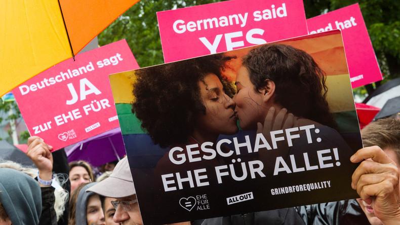 Steinmeier unterzeichnet Gesetz zur Ehe für alle