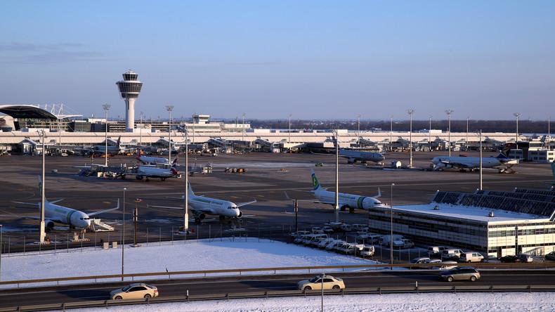 Brite beantragt Asyl am Flughafen in Deutschland
