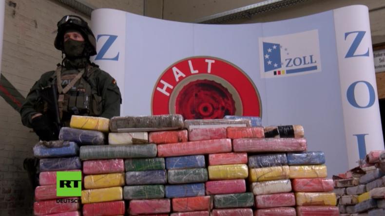 Größter Kokain-Fund in deutscher Geschichte – Drogen im Wert von 800 Millionen Euro verbrannt