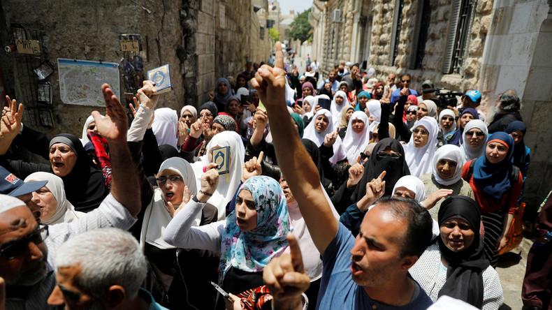 Unruhen in Jerusalem: Palästinensische Christen stellen sich hinter die Muslime