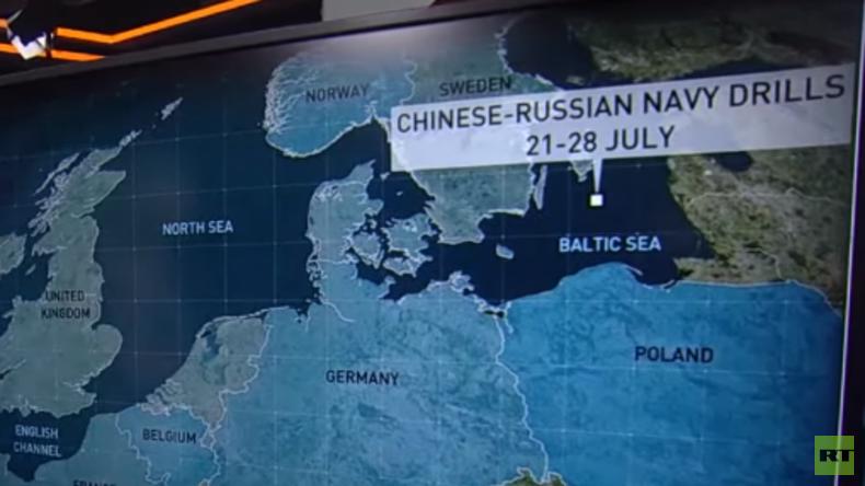 Russisch-chinesisches Marinemanöver sorgt für mediale Panik