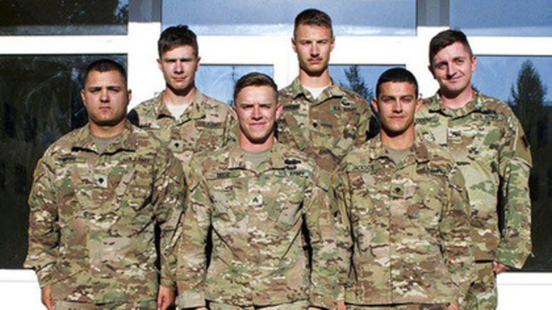 US-Soldaten retten Menschen aus brennendem Haus während Exkursion in Lwiw