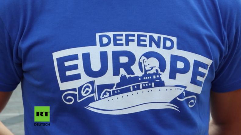 """Italien: """"Europa Verteidigen!"""" - Identitäre wollen Migrantenboote abfangen, evakuieren und versenken"""