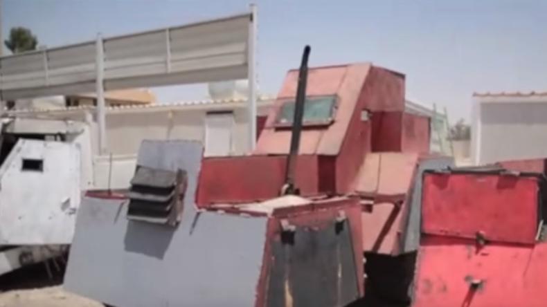 """""""Mad Max"""" im Nahen Osten: IS bastelte sich seine eigenen Panzerwagen"""