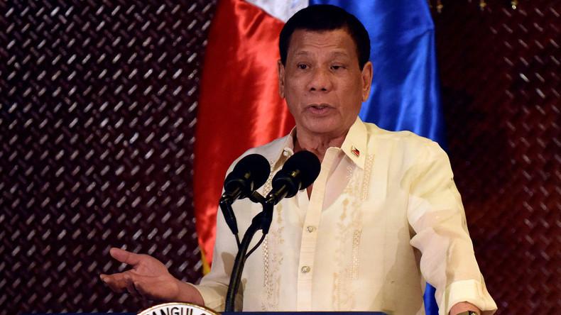 """Philippinischer Präsident Duterte weigert sich die """"miesen"""" USA jemals zu besuchen"""