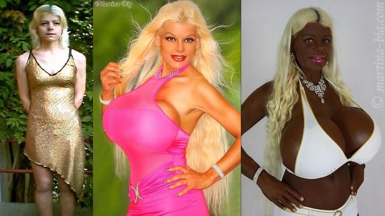 Körbchengröße 70S und extrem gebräunt – deutsches Hollywood-Model Martina BIG [FOTOS]