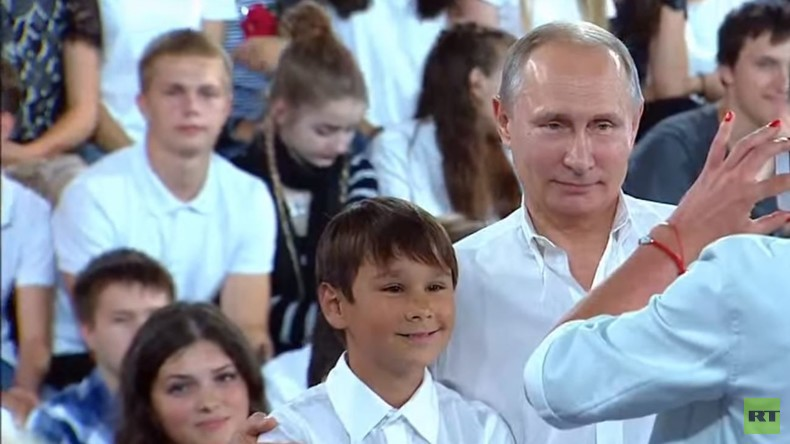 """""""Das unkindische Gespräch mit Wladimir Putin"""""""