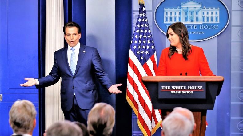 Umsetzungen im Weißen Haus: Sarah Sanders wird neue Pressesprecherin