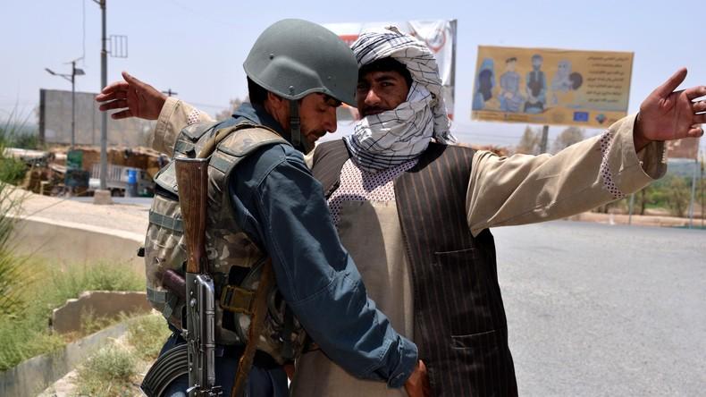 Nach US-Angriff: Mindestens 16 afghanische Soldaten tot