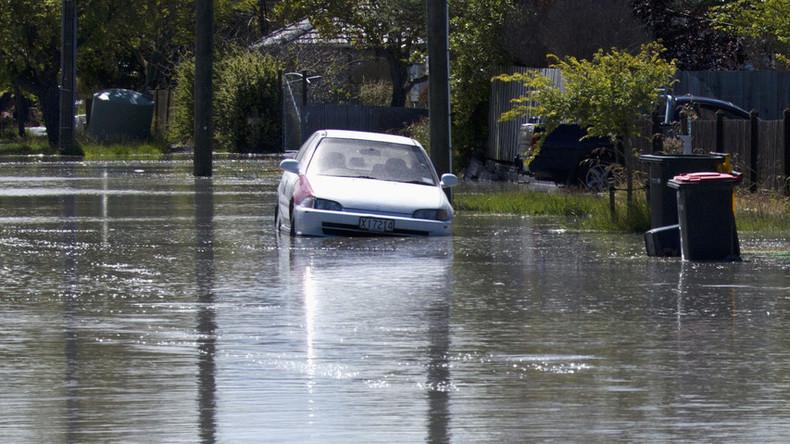 Winterstürme und Hochwasser setzen Neuseeland stark zu