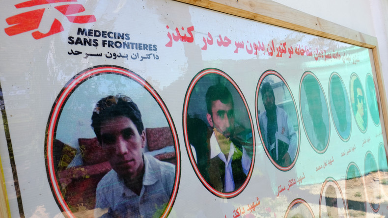 Hilfsorganisation Ärzte ohne Grenzen eröffnet neues Krankenhaus in Kunduz nach US-Luftangriff 2015