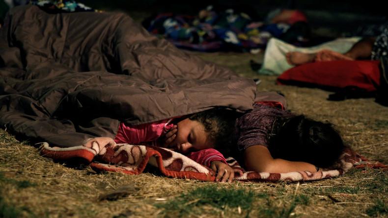Starke Nachbeben auf Kos: Menschen schlafen im Freien