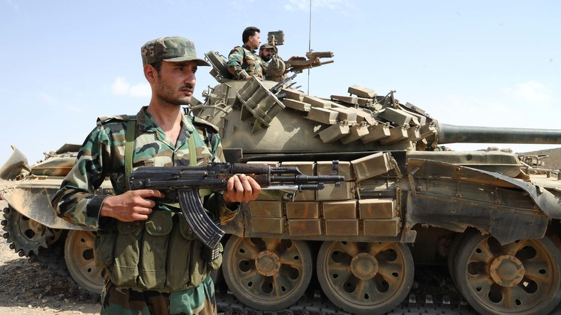 Syriens Armee rückt weiter zum Euphrat vor
