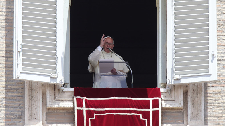 """Papst ruft zu """"Mäßigung"""" in Jerusalem auf"""